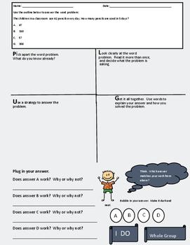 English and Spanish Problem Solving Multiplication