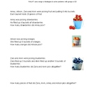 Problem solving using groups of 20