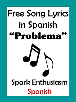 Problema Song Lyrics in Spanish / Problem