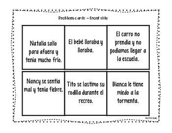 Problema y Solucion - Problem / Solution Spanish