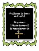 Problemas de Suma hasta el 10-Addition Problems withi 10 &