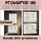 Problemas de Tercer Grado | Spanish Third Grade Word Probl