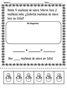 Problemas de matemáticas de invierno