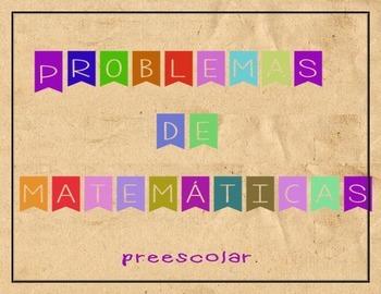 Problemas de matemáticas para preescolar- español