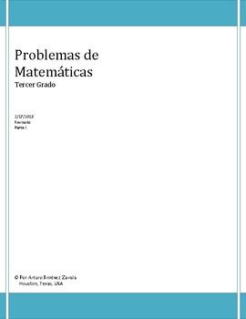 Problemas de suma - STAAR - Spanish