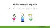 Problemas en La Taqueria - Diego, Marta, and Dora part 1 -