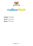 Problèmes - Les fractions -6e et plus