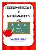 Problèmes écrits d'addition et de soustraction (Double digit)