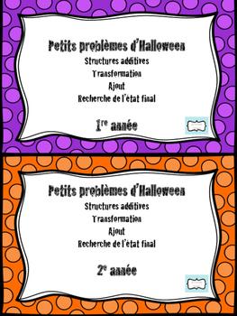 Problèmes mathématiques Halloween