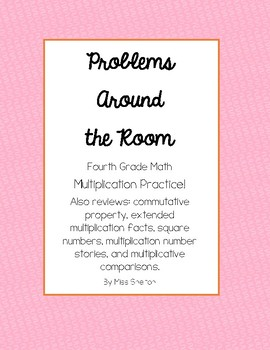 Problems Around the Room- Multiplication