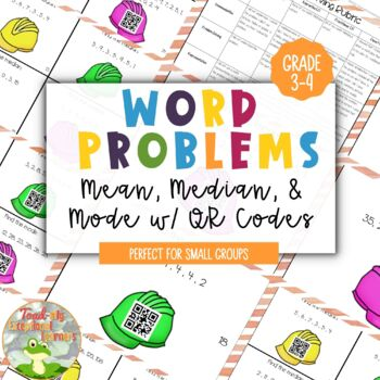 Word Problems: Mean, Median, Mode and Range