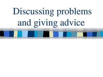 Problems, advice, chores