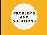 Problems and Solutions Lesson