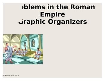 Problems in the Roman Republic and Julius Caesar Graphic Organizer