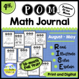 Math Problem-Solving - 4th Grade POM Packs BUNDLE
