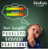 Problems vs. Reactions: Emotional Regulation (FREE SAMPLE)