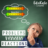 Problems vs. Reactions: Emotional Regulation Pack