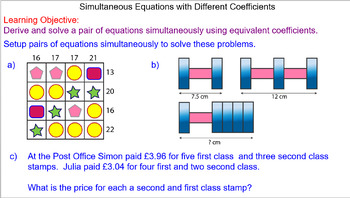 Problems with Simultaneous Equations