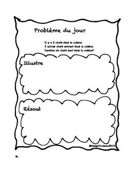 Problèmes écrits en mathématiques