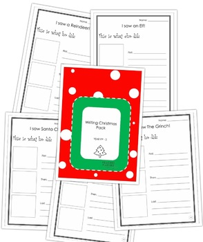 Procedural Christmas Writing Printables