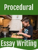 Procedural Essay Writing