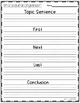 Procedural Writing~ Graphic Organizer