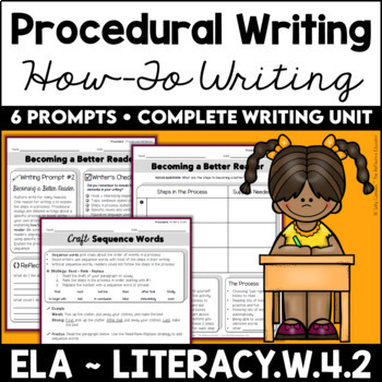 Procedural/How-To Informative Writing Unit