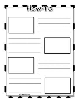 Procedural How-To Writing Unit - BUNDLE