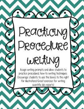 Procedural & How to Writing Organizer