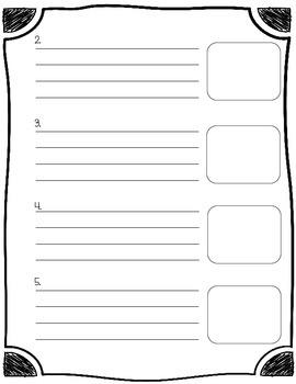 Procedural & How to Writing Organizer
