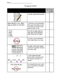 Procedural (How to) Writing  - kid-friendly checklist
