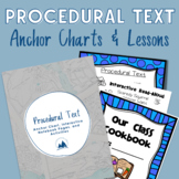 Procedural Text: Anchor Chart, Interactive Notebook Pages,