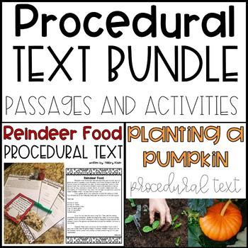 Procedural Text Bundle