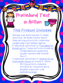Procedural Text: Cookie Bar Recipe, Comprehension Lesson,