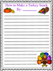 Procedural Text: Craftivity, Sequencing Activity, and Writing Activity