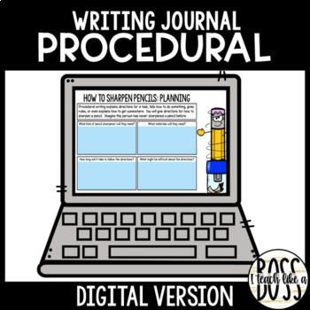 Procedural Text Journal Prompts