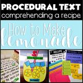 Procedural Text Fun Making Lemonade