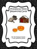 Procedural Text Sequencing Cards