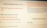 Procedural Text- Task Presentation