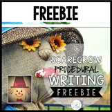 Procedural Text & Writing Freebie: Scarecrow Freebie