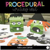 Halloween Writing: Procedural Text, Crafts, and Writing Unit