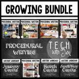 PROCEDURAL TEXT AND WRITING GROWING BUNDLE