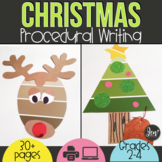 CHRISTMAS ACTIVITIES: WRITING AND CHRISTMAS CRAFTS