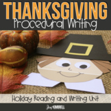 THANKSGIVING CRAFTS TO TEACH PROCEDURAL WRITING