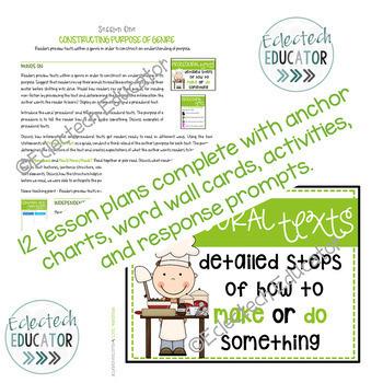 Procedural Texts in Reader's Workshop