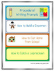 """Procedural Writing - """"How to"""" Graphic Organizers, Charts and Writing Prompts"""