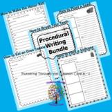 Procedural Writing Bundle