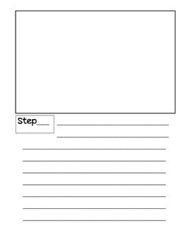 Procedural Writing Booklet (How To Book)