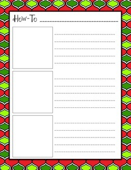 Procedural Writing: Christmastime Themed {Freebie}