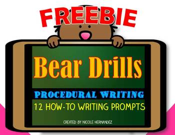 Procedural Writing- Free How To Writing Prompts